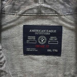 American Eagle Vintage Fit Button Shirt